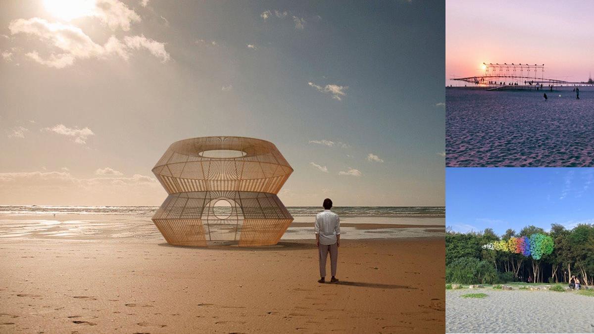 2年只舉辦一次!台南療癒盛事「2021漁光島藝術節」,海島特色市集、夜晚觀星即將封島快閃登場!