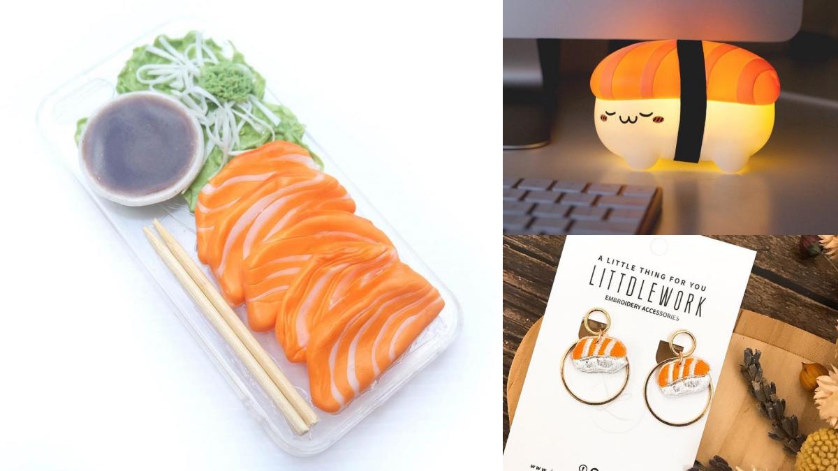 鮭魚之亂「滿載而鮭」!鮭蜜們不容錯過的「鮭魚系周邊」,沙西米手機殼&壽司夜燈可愛到揪心♥