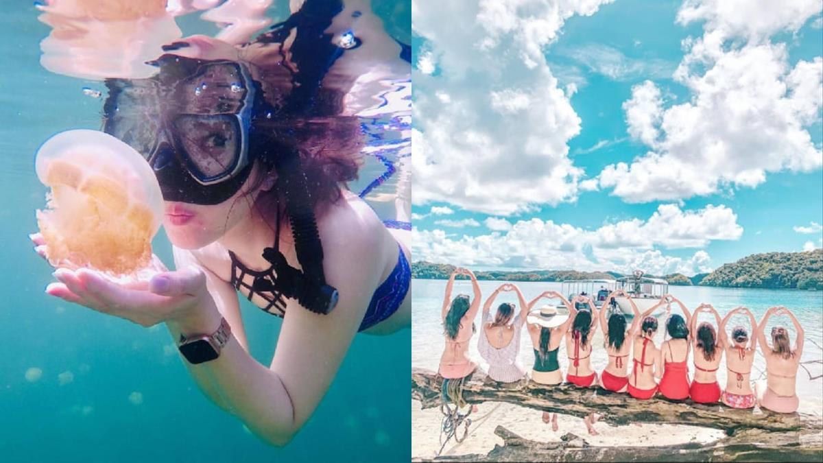 可以出國了!「帛琉旅遊泡泡」4/1開航前先預習5大絕美秘境,好想手刀去全球最美麗沙灘曬日光浴~