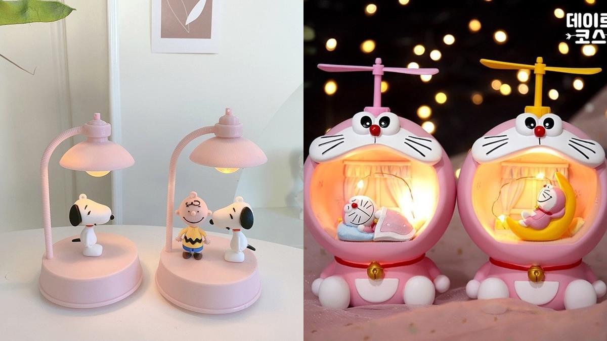 每晚陪你甜甜入睡♥韓牌推出「史努比小夜燈」超夢幻,是夜燈也能當音樂盒真的太勸敗!