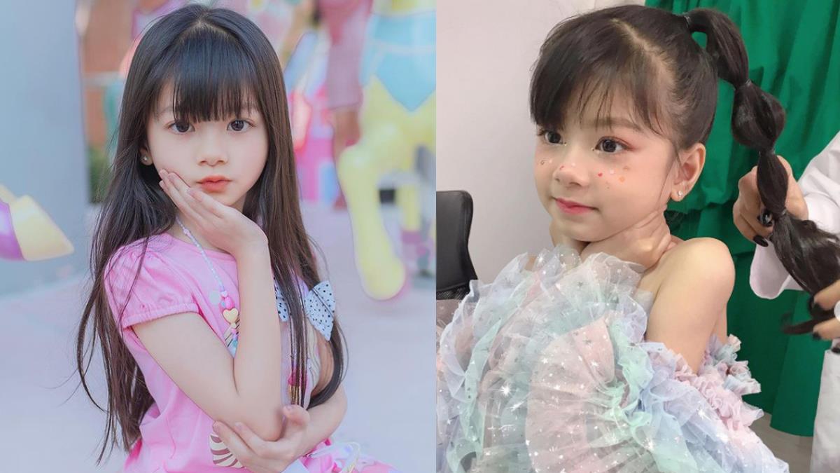 激似縮小版LISA!泰國6歲小童星「逆天顏值」療癒數萬網友,連弟弟都是萌萌的天使臉龐♥
