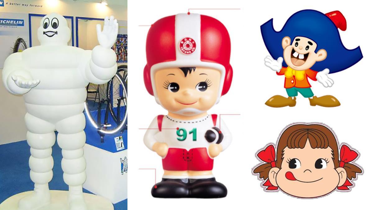 米其林差點變頹廢大叔!那些「經典吉祥物」背後的祕密:大同寶寶為啥拿橄欖球?乖乖原型是布袋戲?