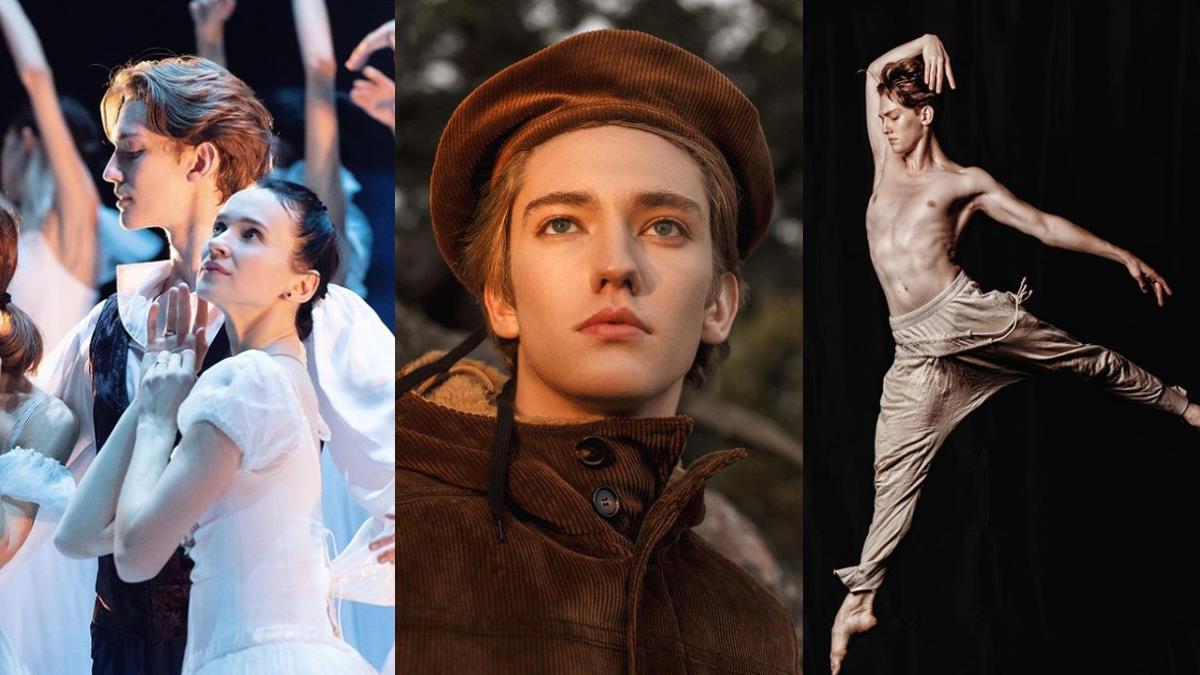 天使般的人間精靈!俄羅斯「芭蕾舞少年」被譽為真正的白天鵝,私服時裝照也帥暈一片粉絲~