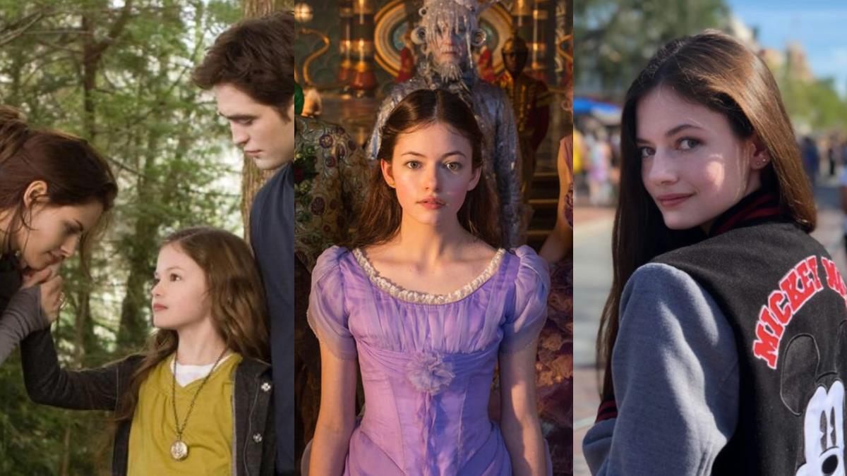吸血鬼&人類混血兒長大了!《暮光之城》貝拉和愛德華女兒「芮尼思蜜」,精靈顏值水到讓人驚艷!