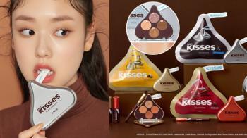巧克力控心動中!Etude x Hershey's水滴巧克力再次聯名,全新「幕斯唇釉」打造剛融化般的緞光美唇~