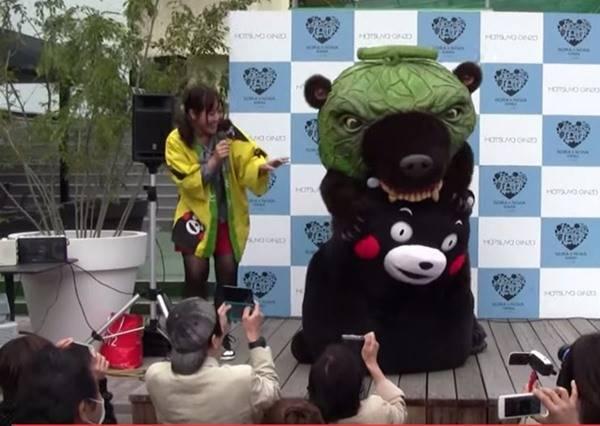 看不慣熊本熊老是賣萌 史上最殘暴的吉祥物在3:20秒決定給牠一些教訓...