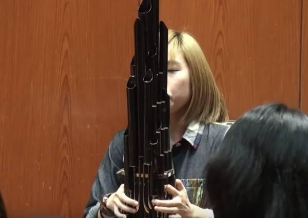 這個台灣女生用傳統樂器演繹超級瑪莉,居然連吃金幣、撞蘑菇也難不倒她!