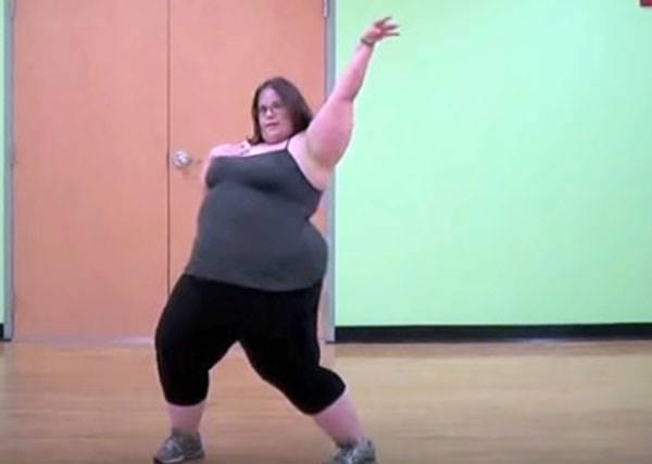 這個女孩自嘲自己是胖妞,但她一跳起舞來整個人都在發光!