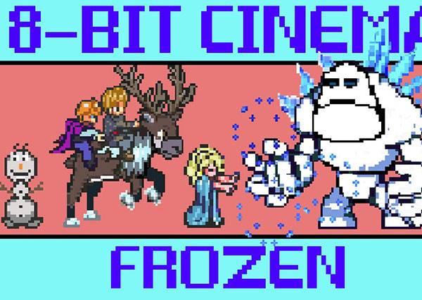 雪寶頭被打爆惹?難怪Elsa不想理王子...當《冰雪奇緣》變成任天堂遊戲,有趣指數超破表!