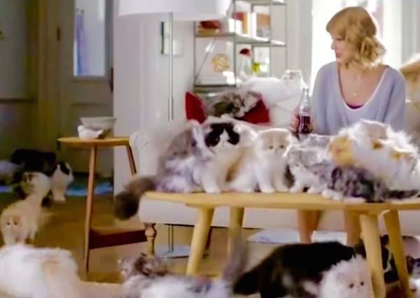 這隻泰勒絲拍的廣告,看到24秒,你也會驚呼「太壯觀了吧!」