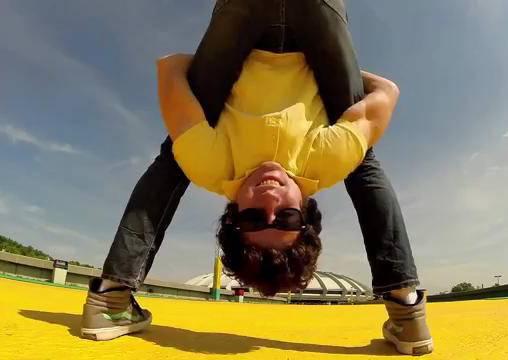 瑜珈融入街舞再用GoPro全紀錄,到底是什麼樣的感覺呢?