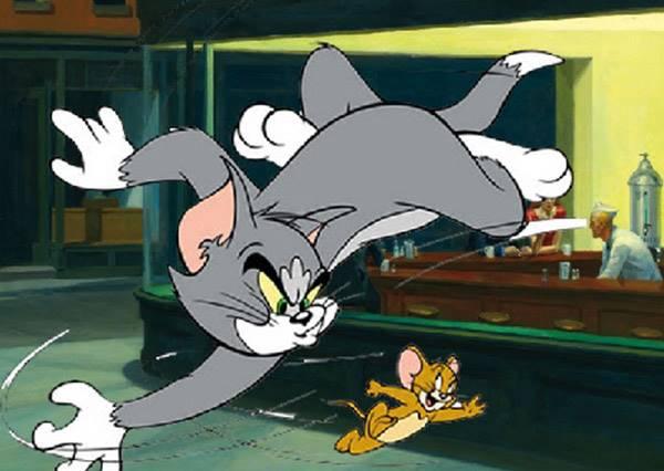 貓咪開心逗著松鼠玩,一個鬆懈...劇情居然就大反轉了!?