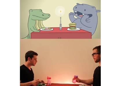 原來動物眼中各個國家的進食禮儀大不同,猜猜牠們是怎麼學中國人!