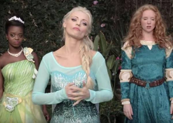 迪士尼公主饒舌battle戰,Elsa對上白雪公主誰能完爆對方?