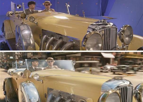 原來華麗電影是這樣拍出來的?居然還有比假裝開車更尷尬的場景!