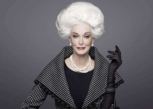 年紀是什麼可以吃嗎?比美魔女更逼人的TOP15銀髮模特兒!