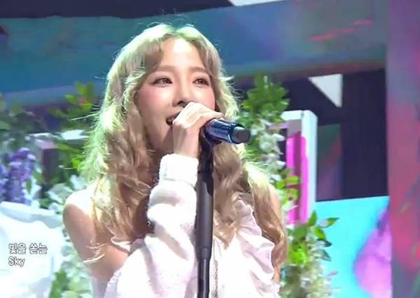 太妍SOLO初舞台,女神一開口就讓人起雞皮疙瘩!