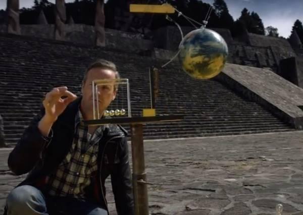一顆小球如何移動一輛汽車?最精采骨牌秀即將揭曉!
