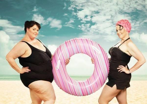 影音/完全兩個人!女子和減重68公斤前的自己拍出最震懾人心的寫真