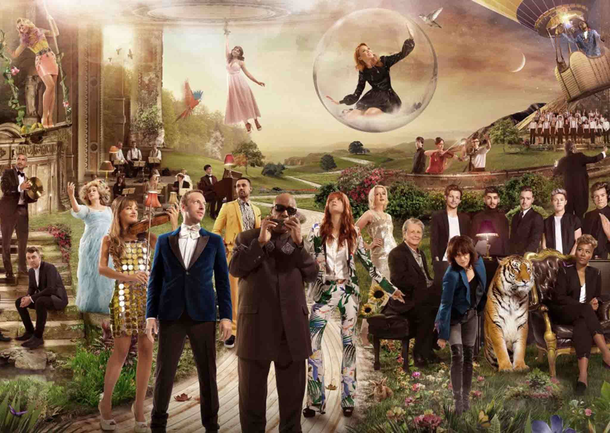 「男版Adele」 山姆史密斯+一世代+酷玩樂團聽起來是…?英國史上最豪華合唱陣容!