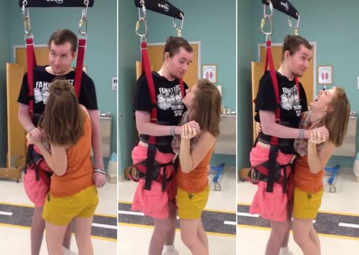 癱瘓男子花了6年才終於完成和妻子的第一隻舞...不離不棄的愛情讓全世界都動容!