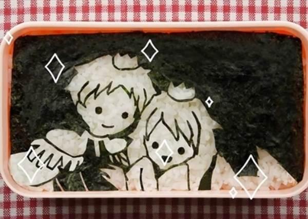 史上第一隻便當動畫!小女孩的浪漫幻想靠海苔跟白飯就能達成?