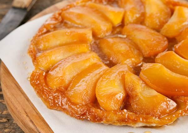 法式經典甜點一學就會!四步驟就能完成反烤蘋果塔