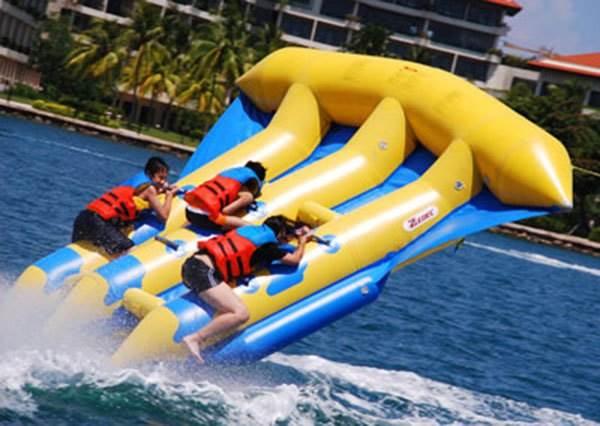 最新極限運動「人體風箏」 但下水前請先知道:你是飛上天的那一個!