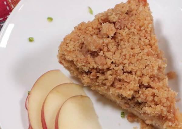 免烤箱!超簡單的香濃甜蜜蘋果派