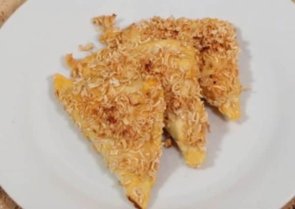 穿上科學麵的鮪魚起司土司餃