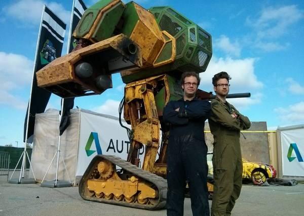 美國大型機器人向日本下戰帖 鋼鐵擂台真實版準備上演?