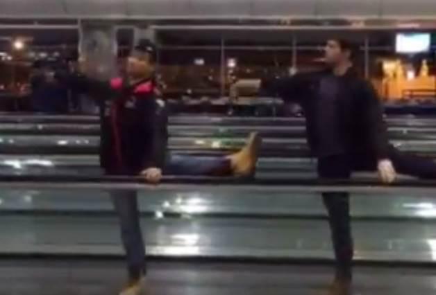 這幾個芭蕾舞者在機場消磨飛機誤點5小時的方式,竟然讓300多萬網友都鼓掌叫好!