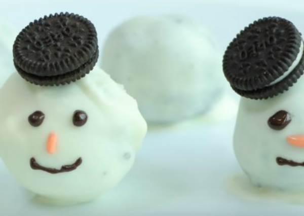 聖誕派對首選!雪人巧克力
