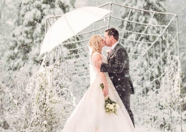 新人精挑細選的好日子竟遇上罕見大雪,沒想到反而拍出全世界女人都夢寐以求的夢幻雪國仙境!