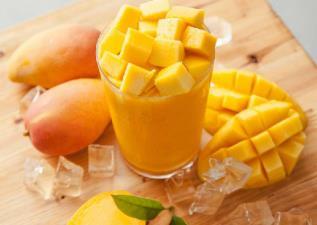 芒果你好美!原來削芒果是件這麼浪漫的事阿!