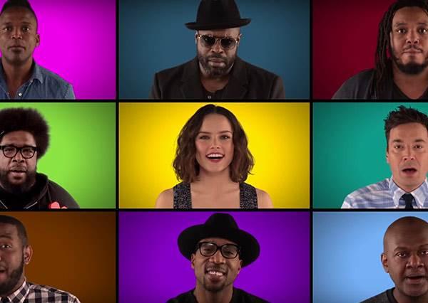 史上最貴美聲合唱影片!好萊塢超猛卡司acapella演唱星戰組曲