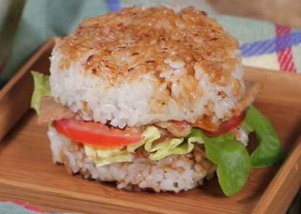 超商料理大變身!燒肉米漢堡