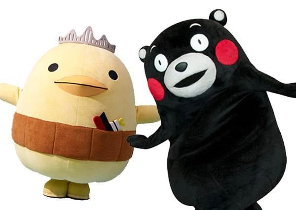 今治小雞和熊本熊用生命在比跳繩...沒想到意外曝露吉祥物界不能說的秘密!?