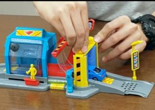 積木人了沒   豐富小孩的想像,來DIY「FastLane洗車場」囉!!