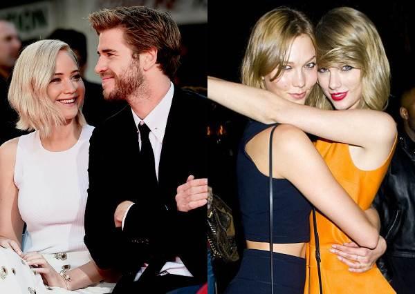 演員、歌手、模特隨點隨到!當泰勒絲對上珍妮佛勞倫斯,你想當誰的BFF?