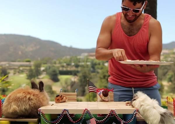 寵物專屬迷你BBQ 牠們吃的開心、我們看的好療癒!