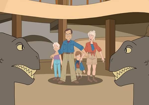 還好侏儸紀公園選擇了侏儸紀時代而不是...