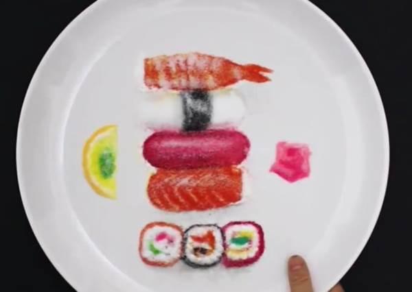 當餐廳端出這盤「不能吃的生魚片」,不但不會被客訴,還有可能收小費收到手軟!?