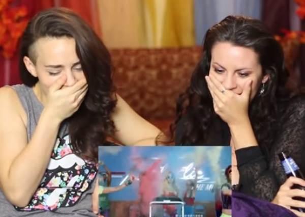 兩個外國女孩如何看蔡依林MV?想不到竟然說出這4個字!