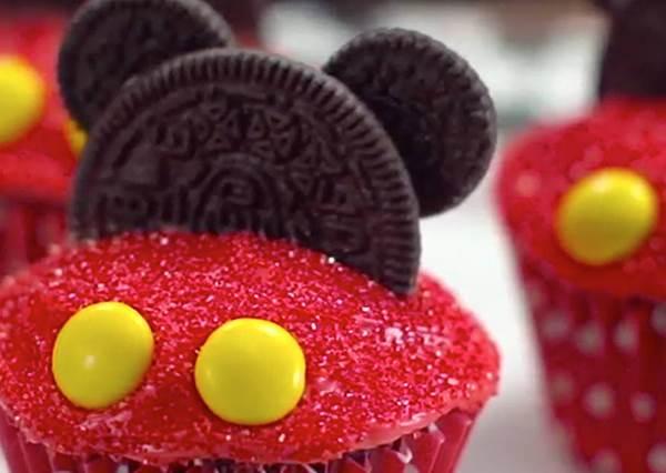 米奇親自掛保證!迪士尼公開卡通造型杯子蛋糕食譜,好吃又簡單~