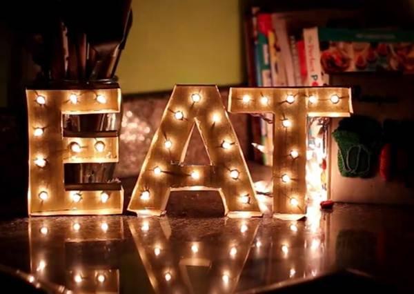 買不到專屬自己的字母燈,我們教你做,保證DIY新手都能學會!