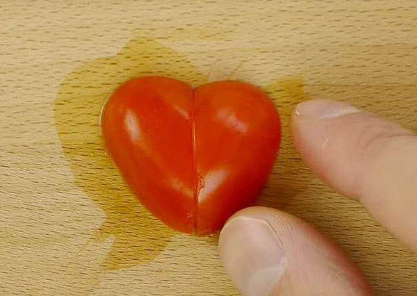 不需巧手也能做!小番茄這樣切,愛心料理立刻Level Up