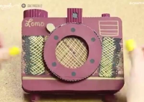 朋友生日還在書局買卡片?DIY「相機造型回憶卡」才是最貼心的禮物!