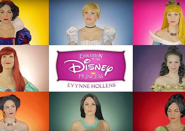 公主都給你一個人當就好啦,看她一個人唱完14個公主的主題曲!