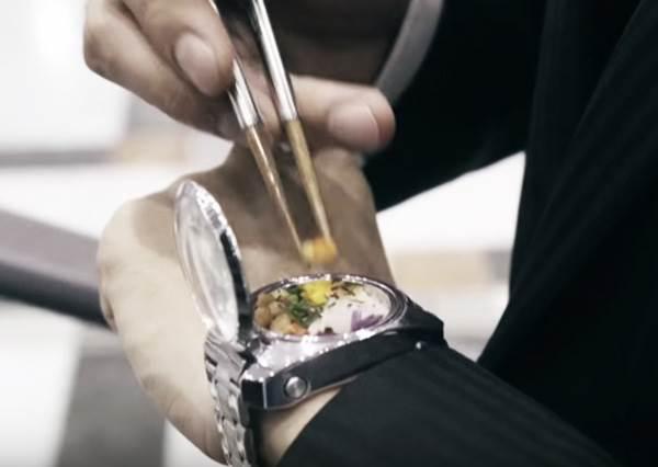 妖怪手錶落伍了!為日本人忙碌生活打造的「便當手錶」好吃又有效率!